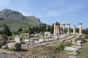 Temple of Apollo, Corinth ()