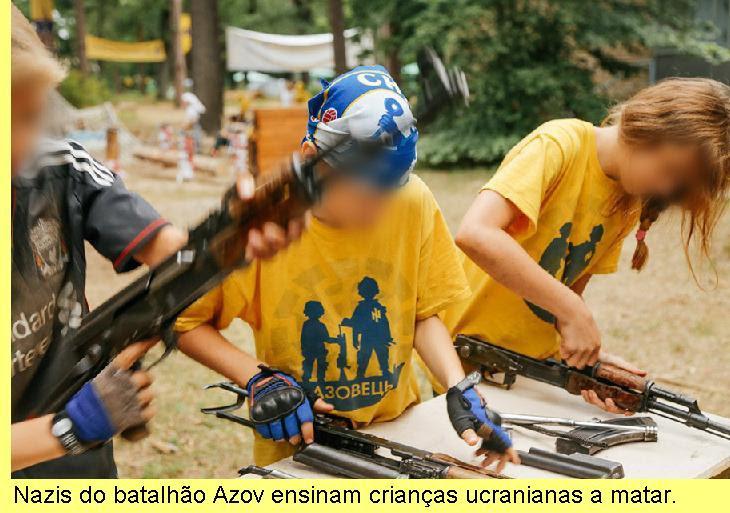 Crianças aprendem a matar.