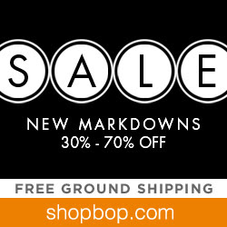 Sale! New Markdowns 30-70% Off at shopbop.com