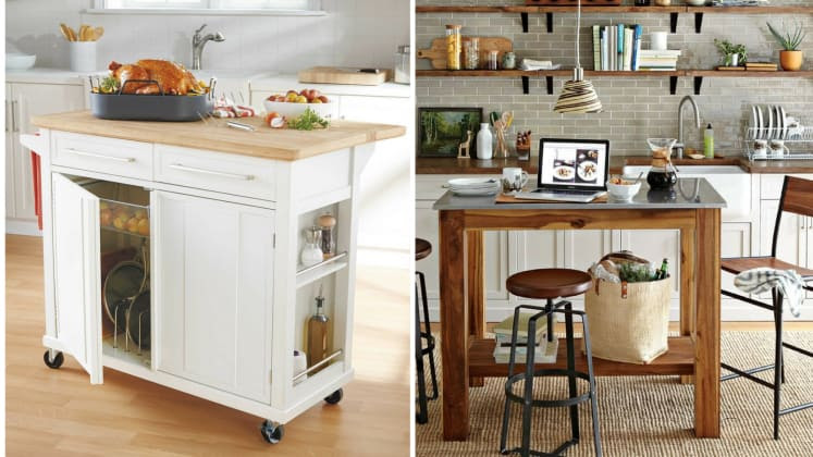 These 10 portable islands work hard in your kitchen ...