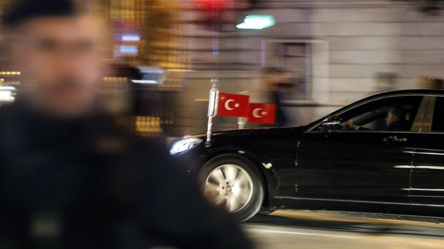 File Photo: The arrival of Turkish President Tayyip Erdogan with his delegation at the Hotel Excelsior, Rome, Italy. EPA, RICCARDO ANTIMIANI