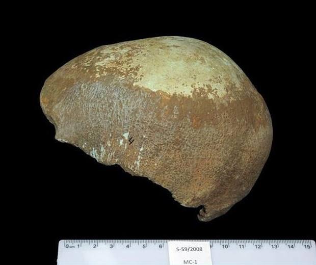 El cráneo de Manot.