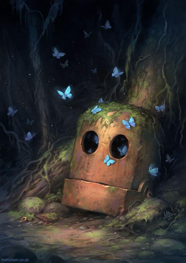 Pinturas-de-robots-solitarios-contemplando-el-mundo (10)