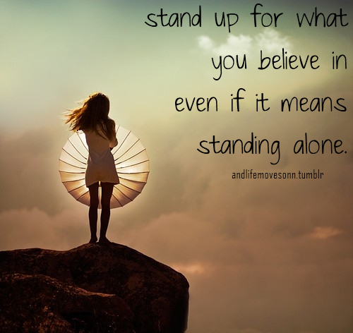 Quotes About Standing Up Powerful Quotes About Selfrespect That