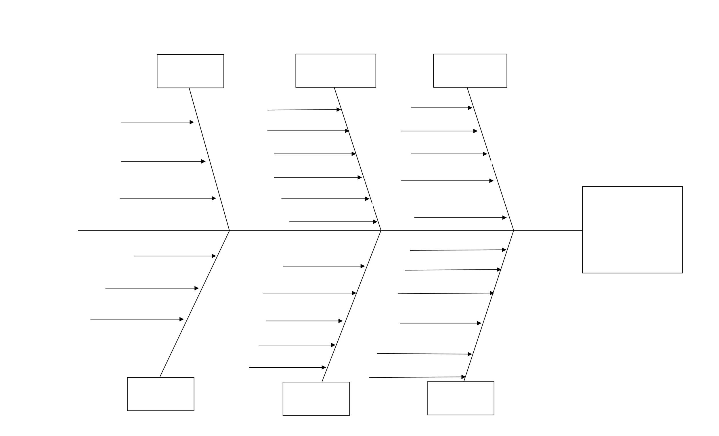 fishbone diagram template 02