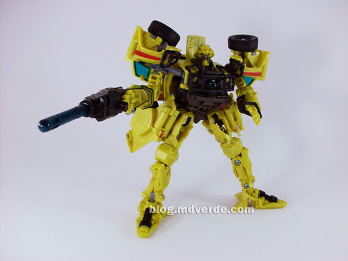 Transformers Ratchet Deluxe RotF NEST - modo robot