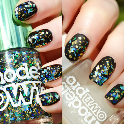 Models Own Mirrorball Dancing Queen swatches