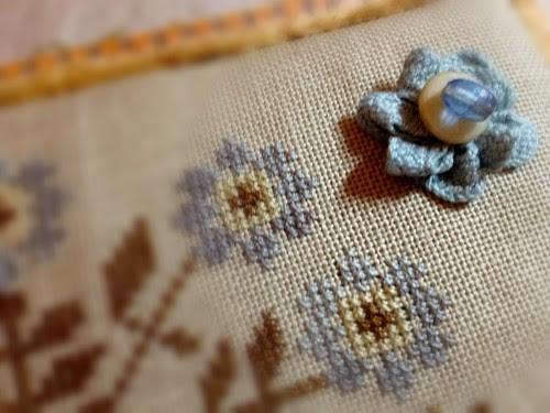 Carolina stitcher finishes