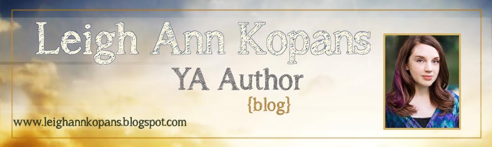 Leigh Ann Kopans YA Author header copy