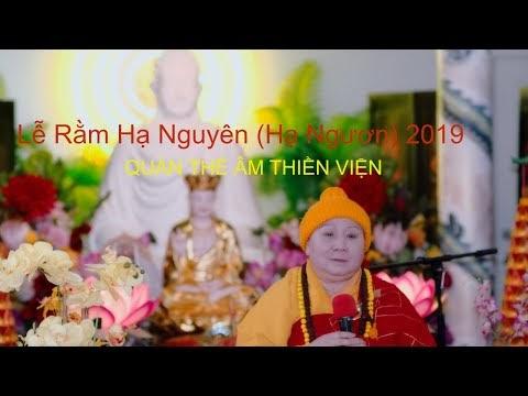 Lễ Rằm Hạ Nguyên (Hạ Ngươn) - November 10, 2019