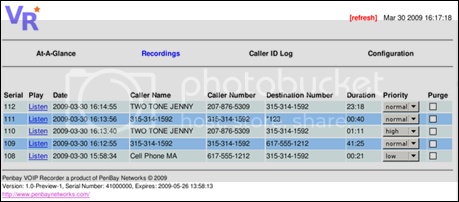 Record Vonage calls with VOIP Recorder
