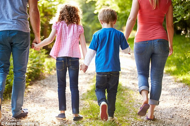 As well as attention restoration and getting away from the day-to-day, the researchers suggest that nature-based rituals, such as walking the dog together could boost family morale