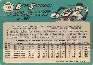 #582 Bob Schmidt (back)