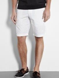 Dockers White Cotton Shorts