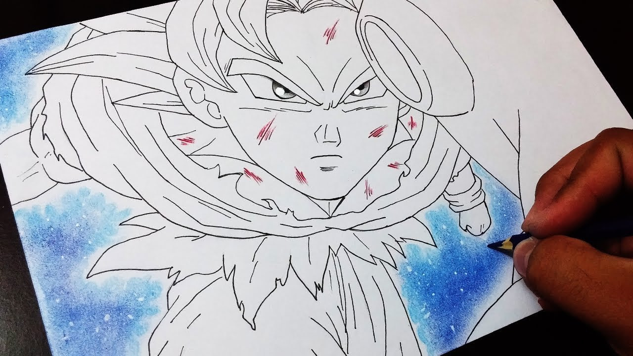 Goku Sketch Drawing At Getdrawings Free Download
