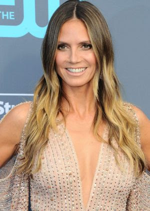 Heidi Klum Critics Choice Awards 2018 16 Gotceleb