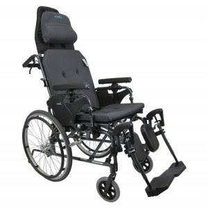 Reclinable silla de ruedas