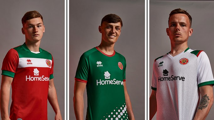 Walsall's 2021/22 Home & Away Kits Have Been Unveiled