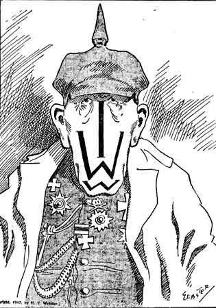 Anti-IWW propaganda cartoon