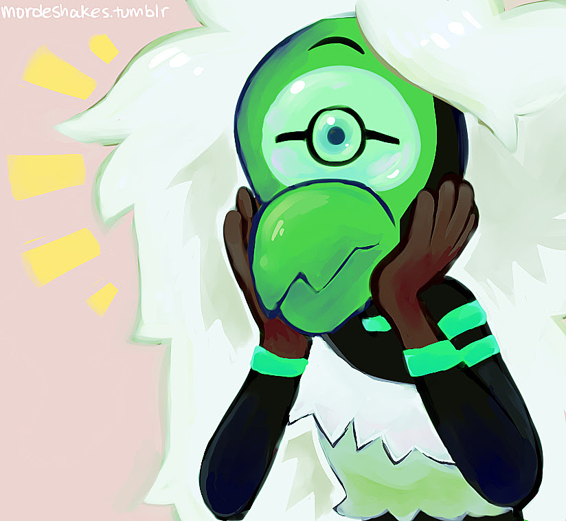 someone wanted centipeetle! also tried a different painting technique here