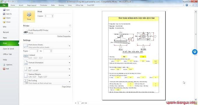 Hướng dẫn cách bỏ viền kẻ bảng khi in file Excel 2003 2007 2010 2013