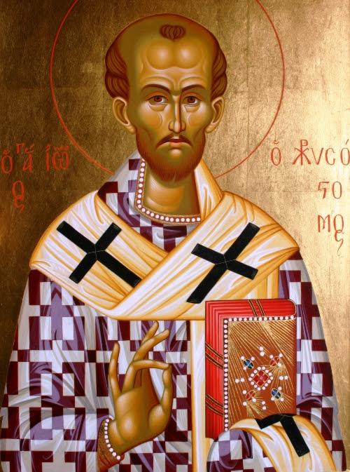 Αποτέλεσμα εικόνας για άγιος Ιωάννης ο Χρυσόστομος: