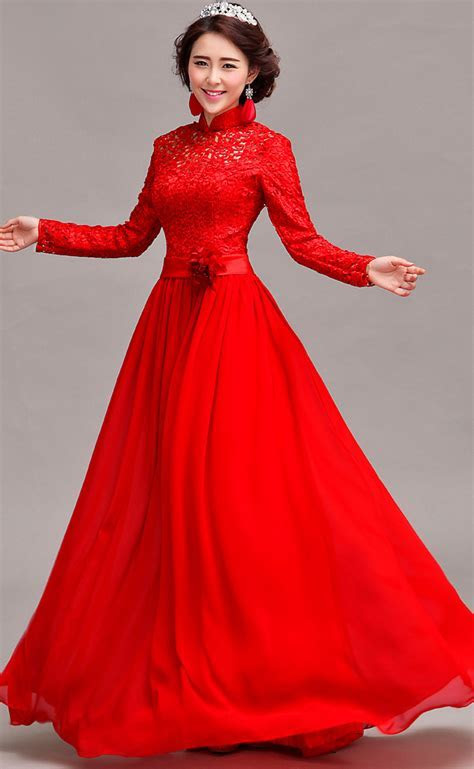 Red Bridal Gowns   Dressed Up Girl