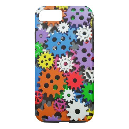 Gears,gears and more gears. iPhone 7 case