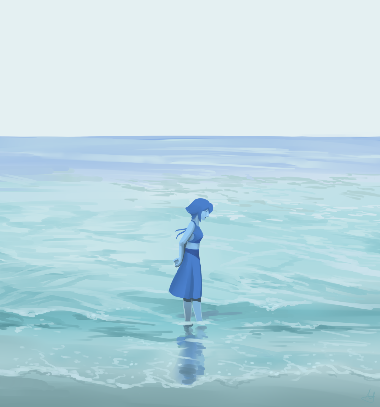 Little lady from the big sea