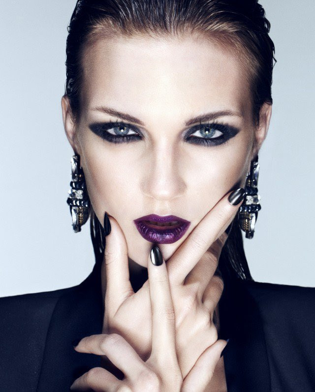 Fashionable Purple Lipstick Makeup Ideas   Styles Weekly