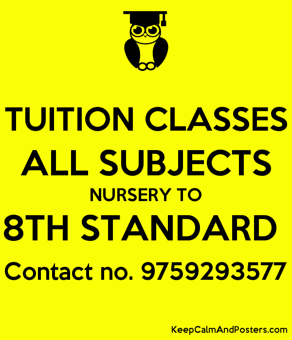 30+ Top For Posters For Tuition Classes