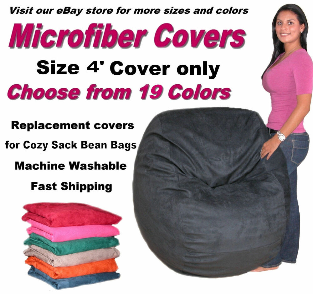 Bean Bag Chair Cover Factory Direct Cozy Sack Store Fits 4 ...