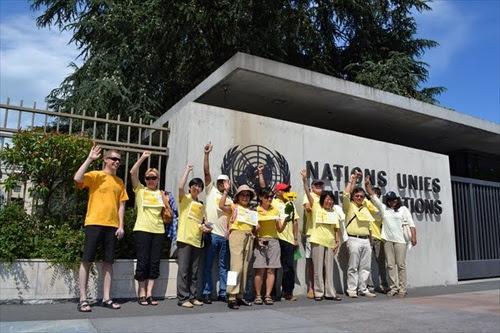 Bersih 2 - Geneva, Switzerland