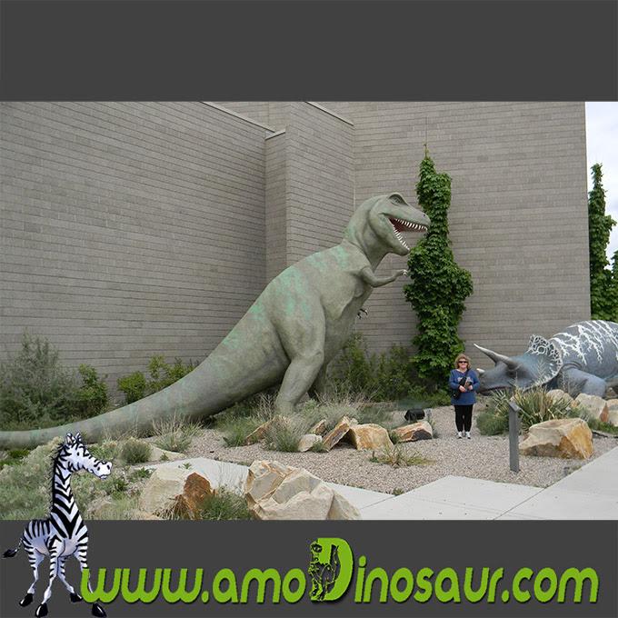 La Resina De Figura De Dibujo Animado Dinosaurio Tiranosaurio Rex