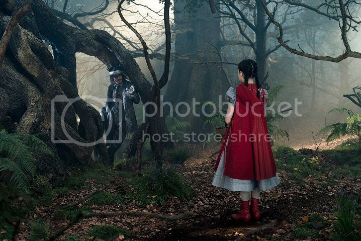 Into The Woods Red Hood