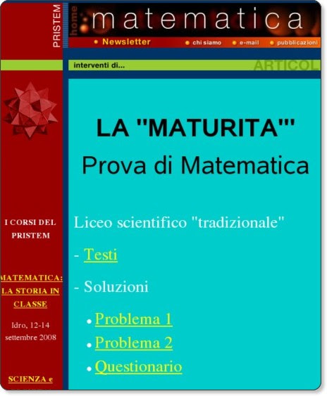 http://matematica.unibocconi.it/maturita2008/esame2008.htm