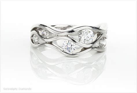 Alternatives to Raindance Inspired Diamond Rings