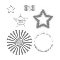 Superstar Clear-Mount Stamp Set