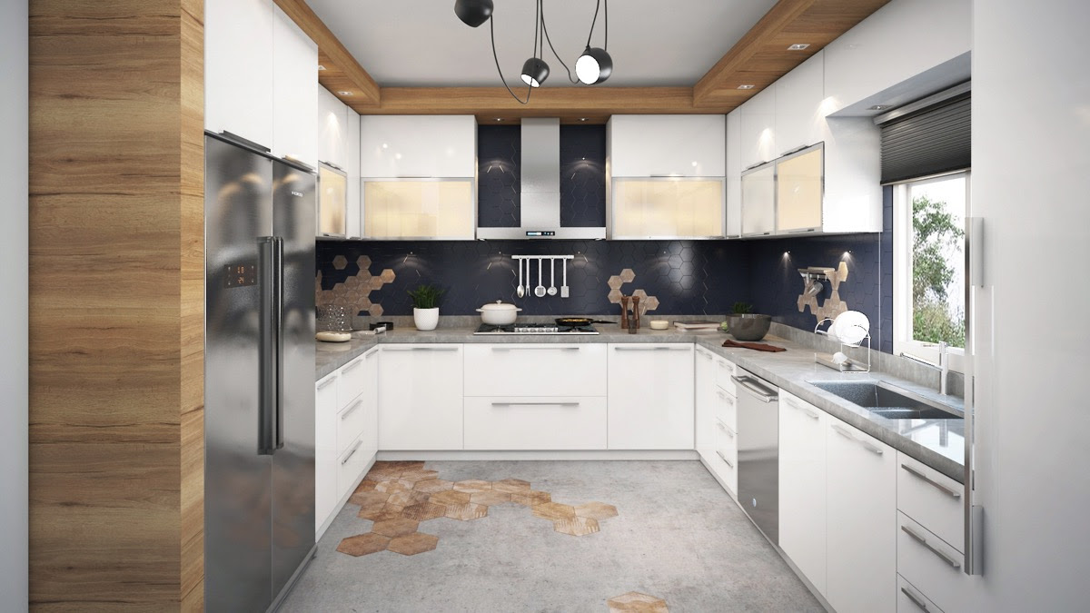 Unique U Shaped Kitchens And Tips You Can Use From Them