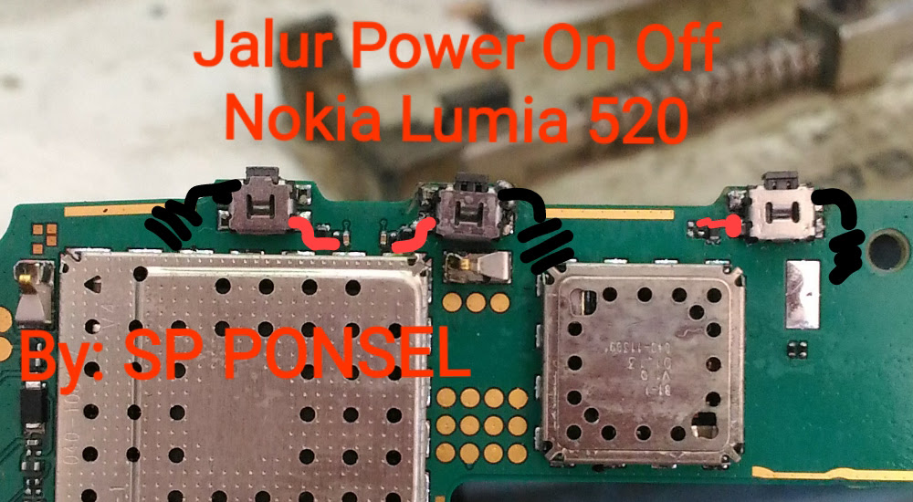 Nokia Lumia 520 Volume Up Down Keys Not Working Problem Solution Jumpers