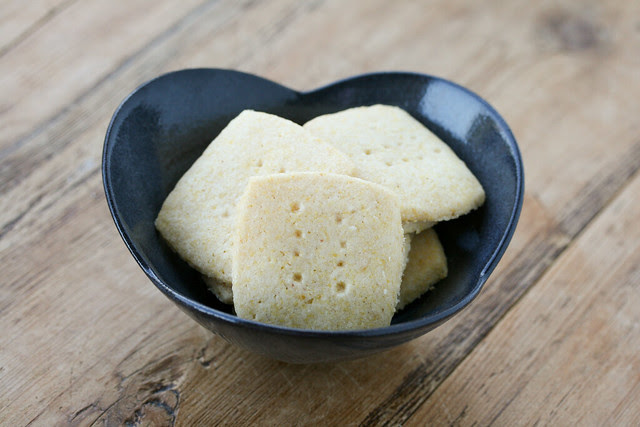 Cornmeal Shortbread Cookies - Tuesdays with Dorie