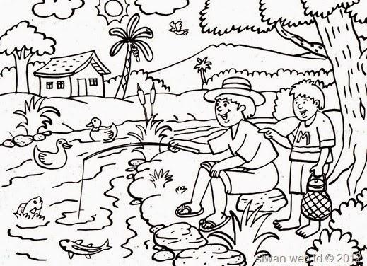 Gambar Rumah Kartun Hitam Putih Gambar Mewarnai Igloo Auto