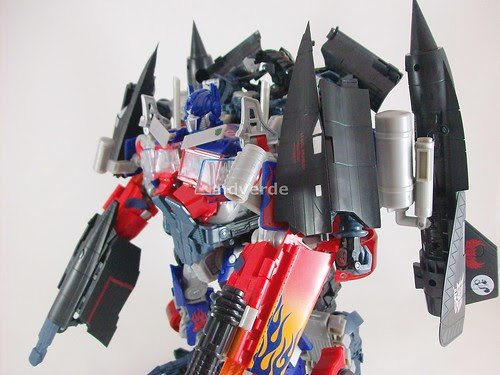 Transformers Power Up Optimus Prime RotF