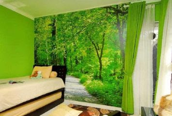 9000 Wallpaper Dinding Nuansa Alam