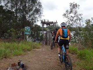 Sugar Cane Lift Bridge on the Maroochy River