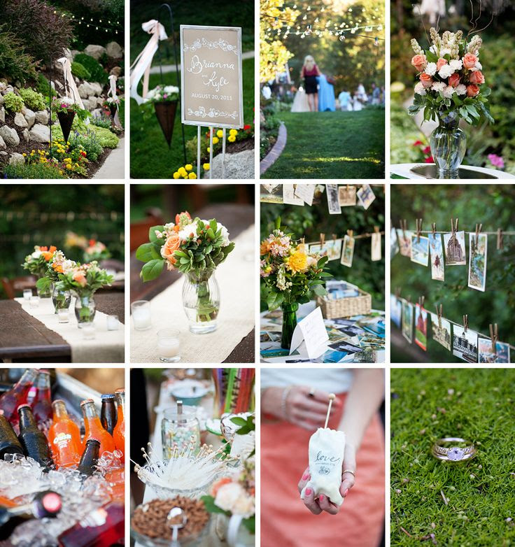 Pinterest Back Yard Wedding Reception Ideas
