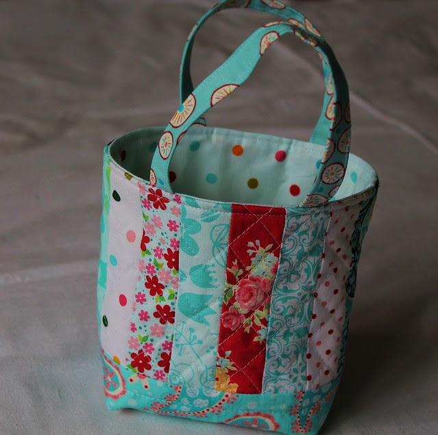 Quilted Friendship Bag
