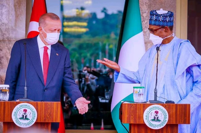 Terrorists Who Tried to Remove Me from Office Are In Nigeria, Turkish President Says