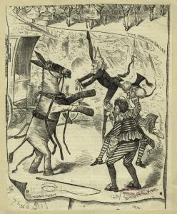 The fight : Drury Lane. Digital ID: 833974. New York Public Library