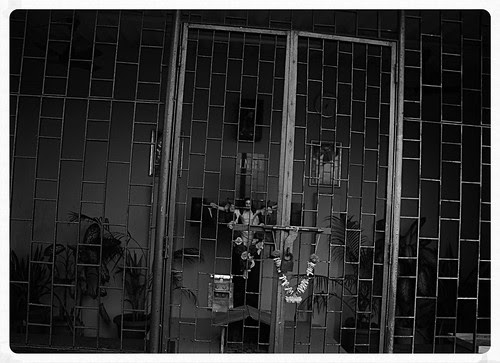 Jesus Who Helped The Poor Has Been Locked Up For Good.. by firoze shakir photographerno1